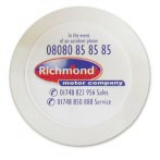 Round Self Cling Tax Disc Holder